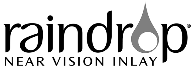 Raindrop logo dark